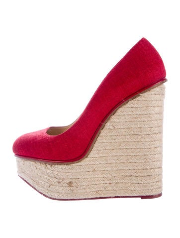 Charlotte Olympia Carmen Espadrille Wedges None