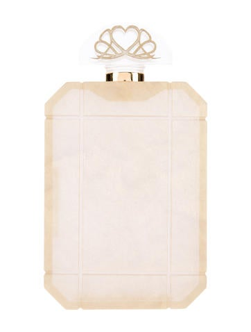 Charlotte Olympia Perfume Bottle Clutch None