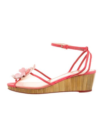 Charlotte Olympia Florinha Wedges None
