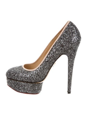 Charlotte Olympia Dolly Glitter Pumps None