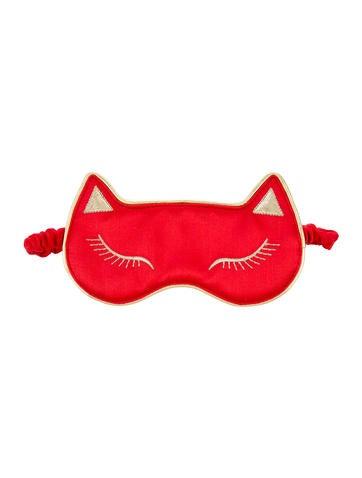 Charlotte Olympia Cat Nap Sleep Mask None