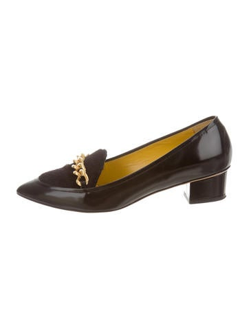 Charlotte Olympia Francis Ponyhair Loafers