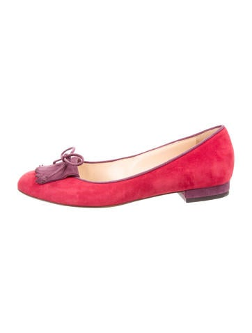 largest supplier cheap online Charlotte Olympia Suede Kiltie Flats discount visit with paypal cheap price for cheap discount 2t8Wt