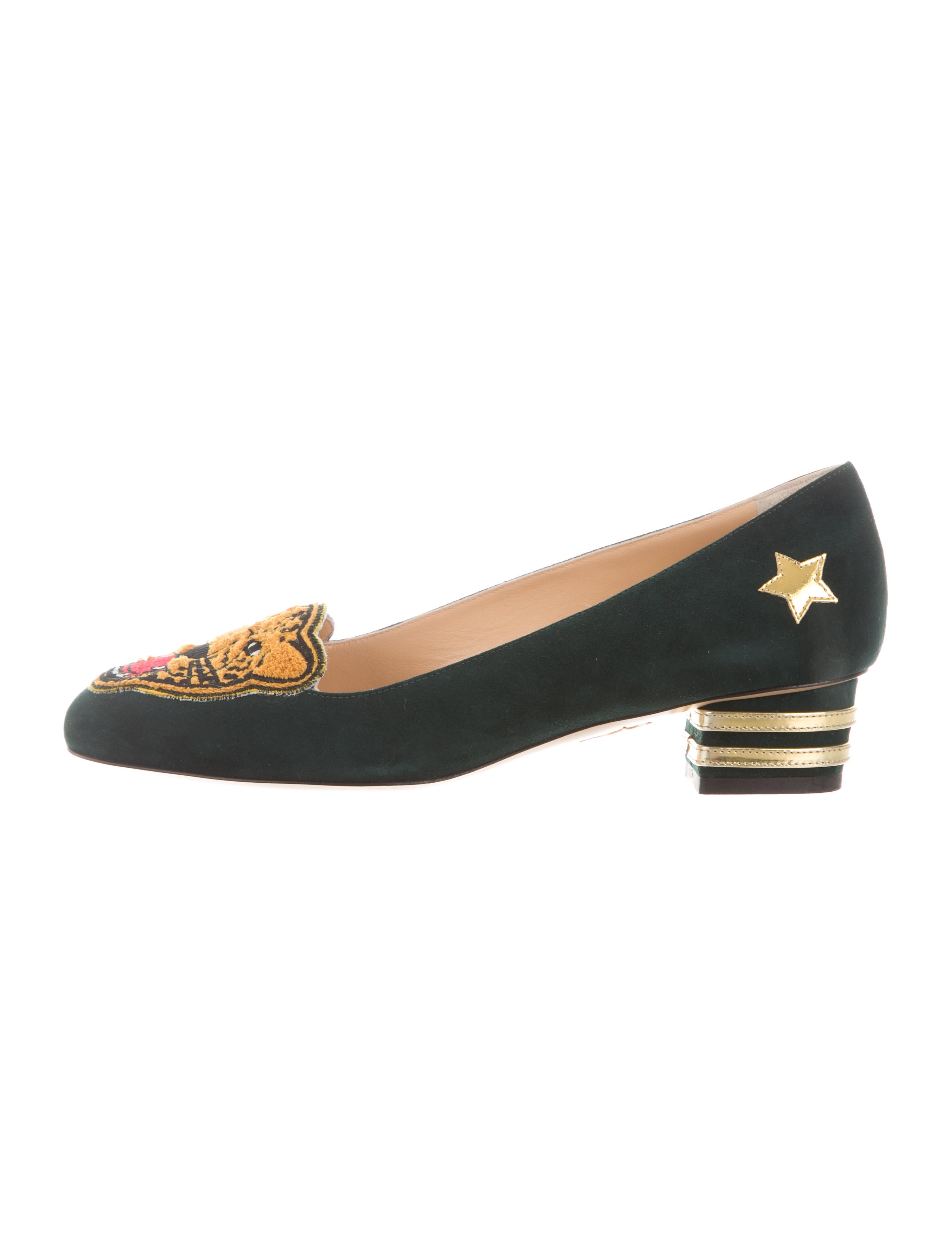 9aee57782f02 Charlotte Olympia Mascot Suede Pumps w  Tags - Shoes - CIO23250 ...