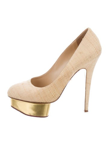 Charlotte Olympia Dolly Platform Pumps None