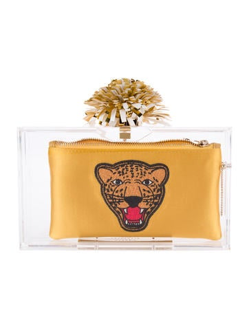 Charlotte Olympia Cheer Pandore Clutch None
