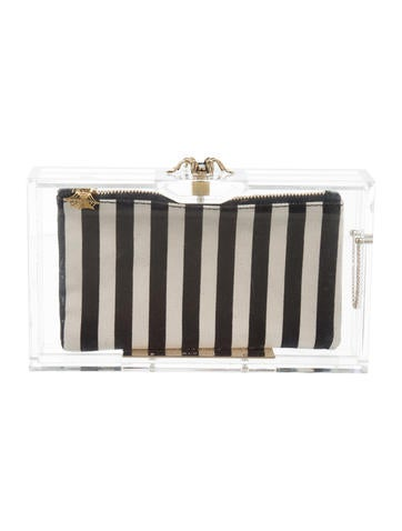 Charlotte Olympia Pandora Box Clutch None