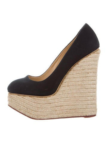 Charlotte Olympia Carmen Platform Wedges None