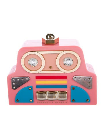 Charlotte Olympia Cobot Clutch None