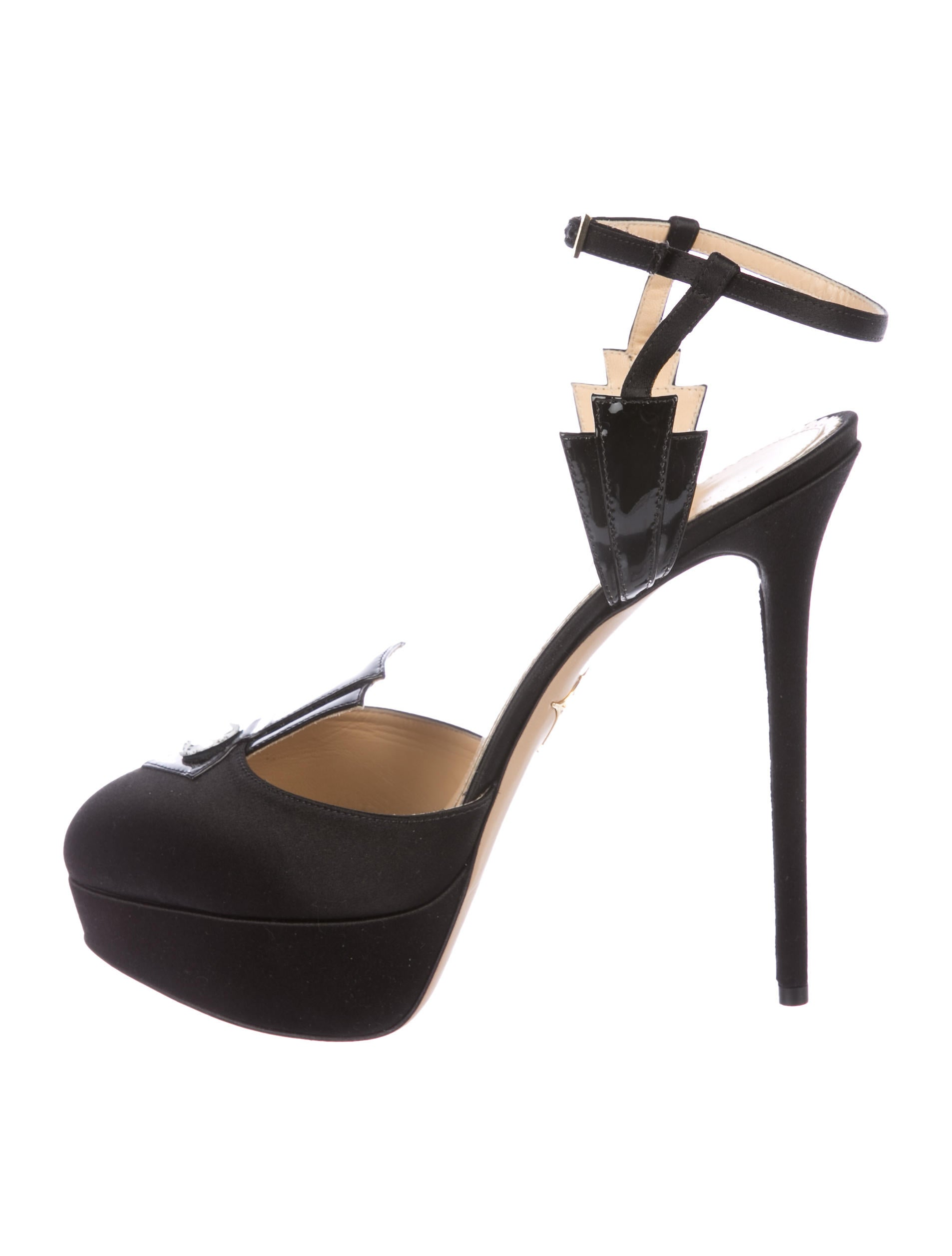 Charlotte Olympia Empire State Platform Pumps w/ Tags free shipping best place nA6P8HksR