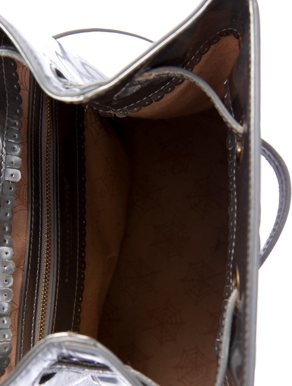 Charlotte Olympia Patent Leather Cat Bucket Bag S… - image 5