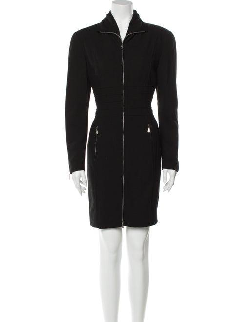 Claude Montana Mini Dress Black
