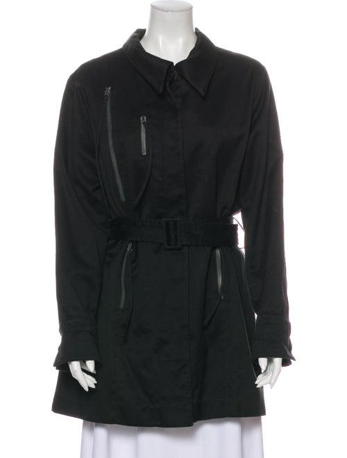 Claude Montana Trench Coat Black
