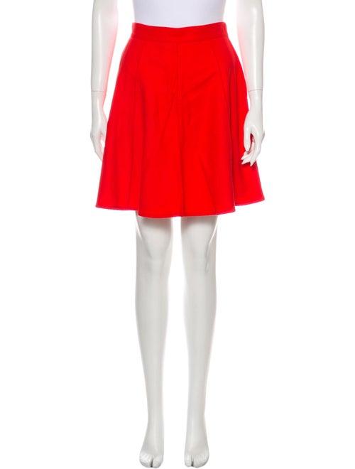 Claude Montana Wool Mini Skirt Wool