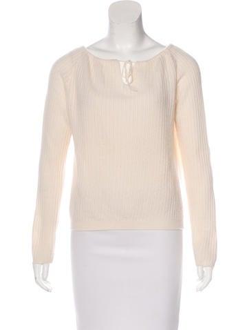 Clements Ribeiro Raglan Sleeve Knit Sweater None