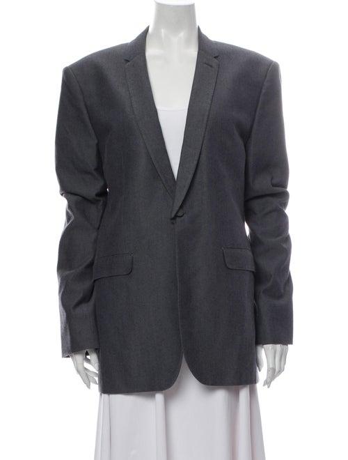 Cloak Blazer Grey