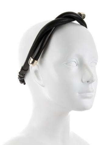 Leather Twist Headband