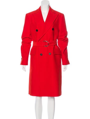 Calvin Klein 205W39NYC Double-Breasted Long Coat None