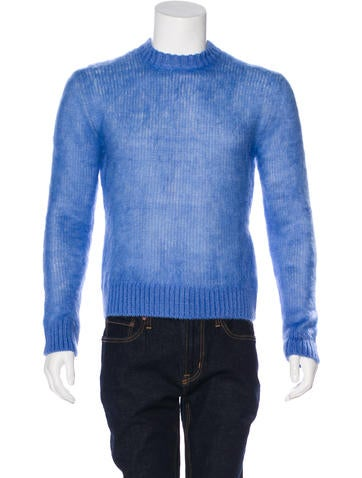 Calvin Klein 205W39NYC Mohair Crew Neck Sweater w/ Tags None