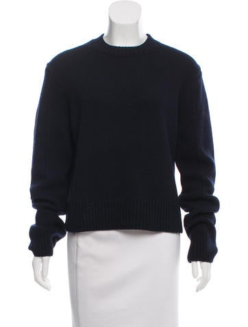 Calvin Klein 205W39NYC Cashmere Crew Neck Sweater None