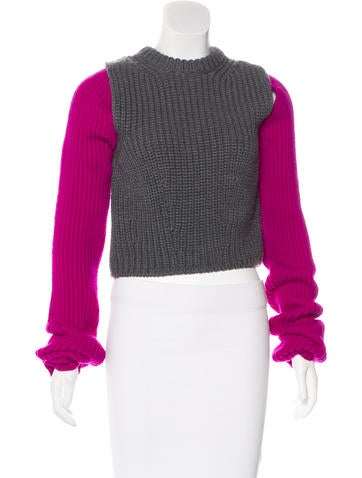Calvin Klein 205W39NYC Wool Knit Sweater None