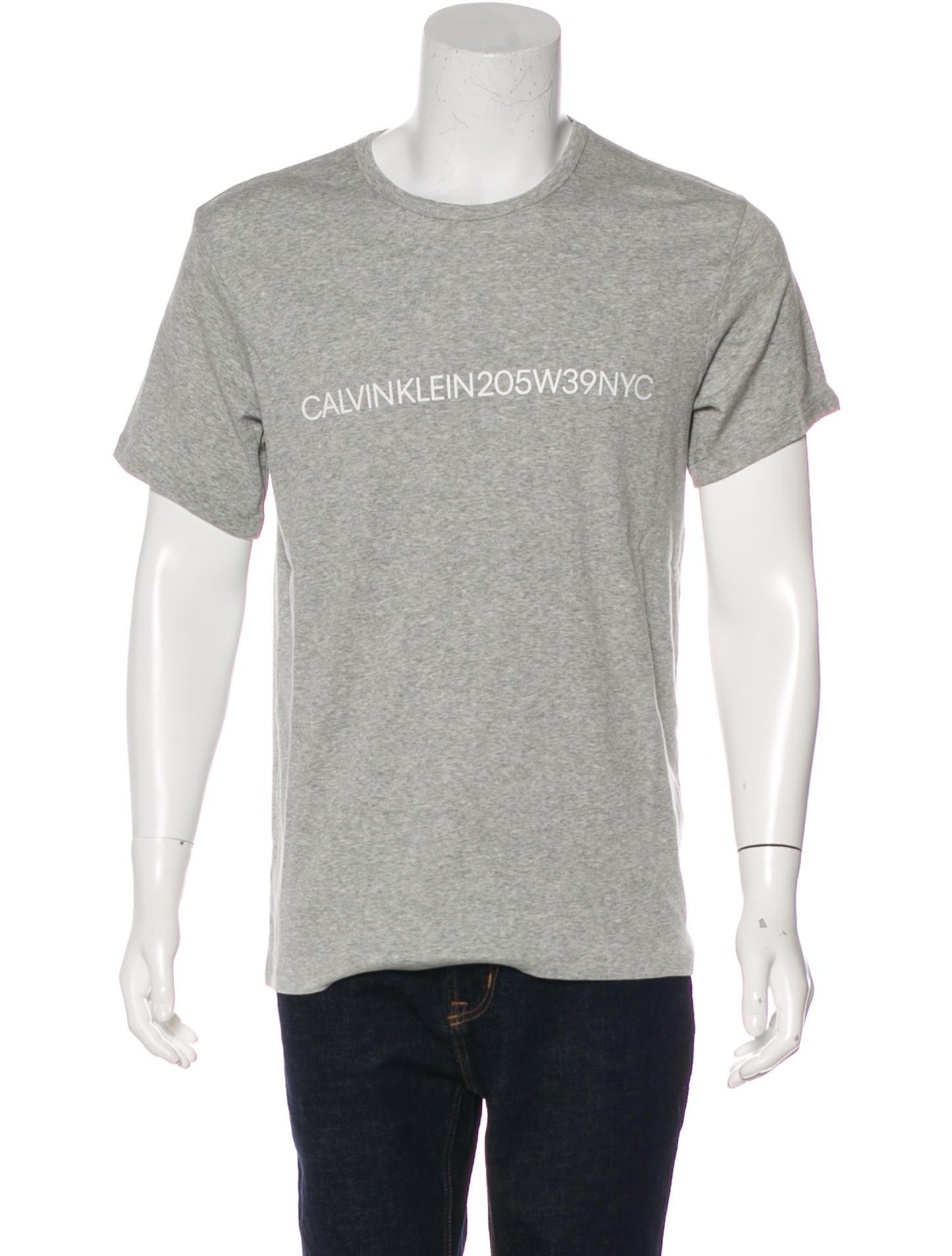 eadb26a65de3 Calvin Klein 205W39NYC Logo Print T-Shirt w/ Tags - Clothing ...