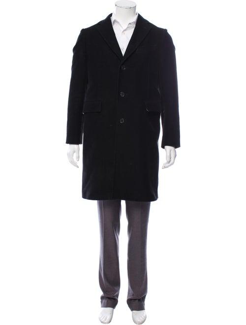 Calvin Klein 205W39Nyc Felt Top Coat black