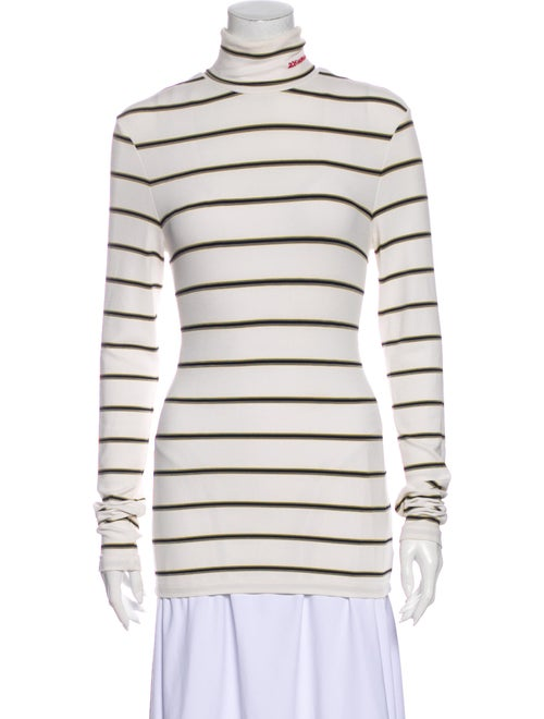 Calvin Klein 205W39Nyc Striped Turtleneck Sweater