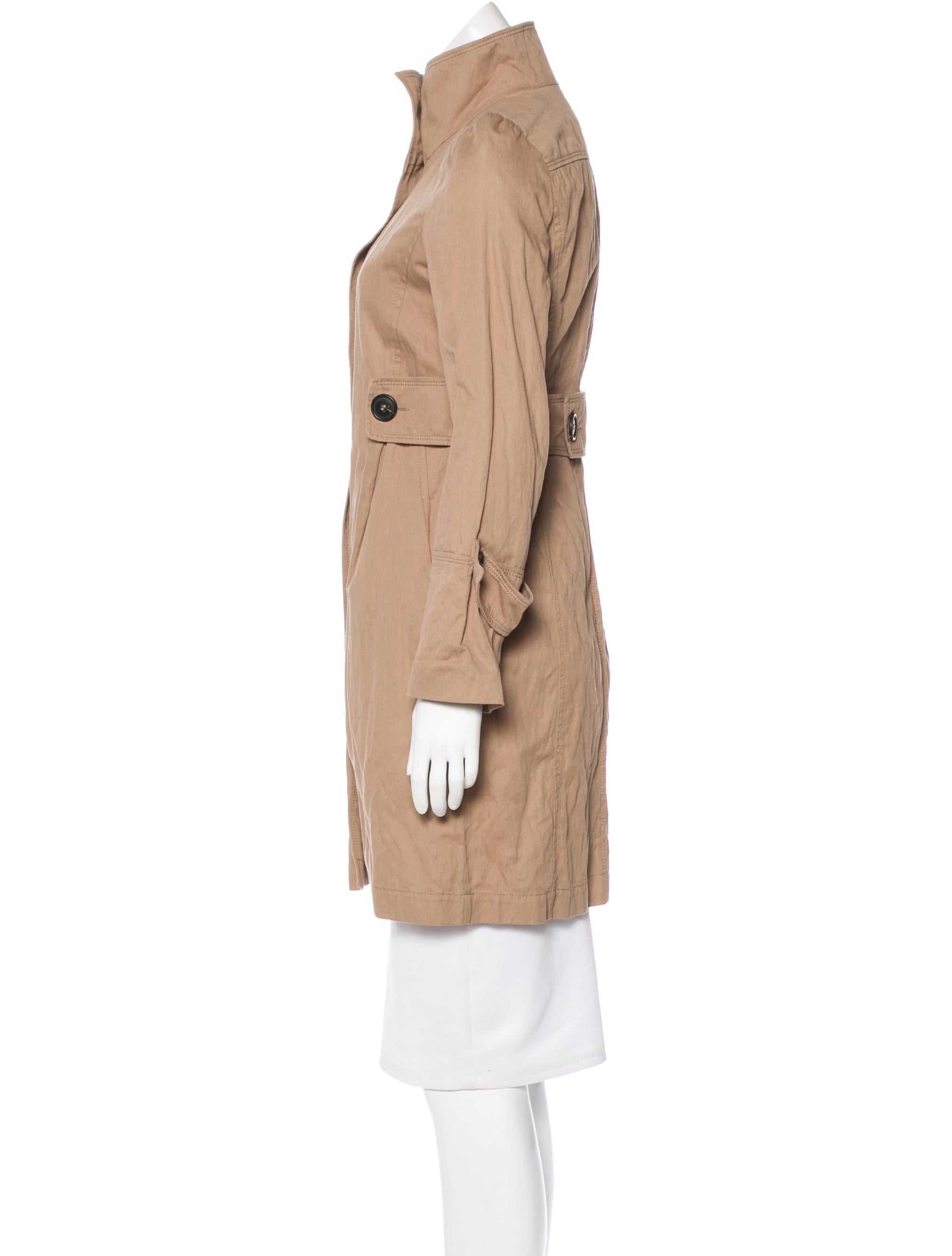 comptoir des cotonniers stand collar short coat clothing On comptoir stand
