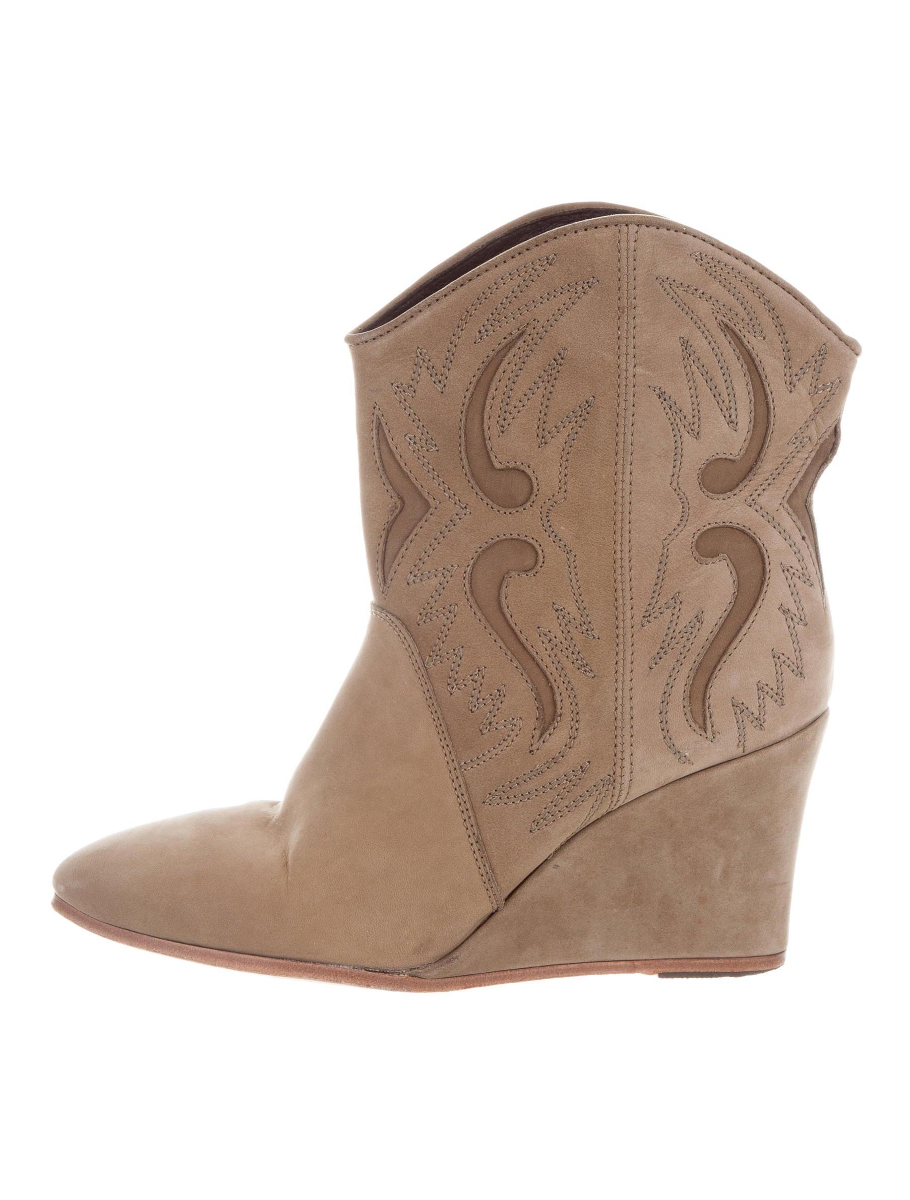 good selling cheap price Comptoir Des Cotonniers Laser Cut Wedge Ankle Boots buy cheap authentic outlet great deals 4LfRqcmj