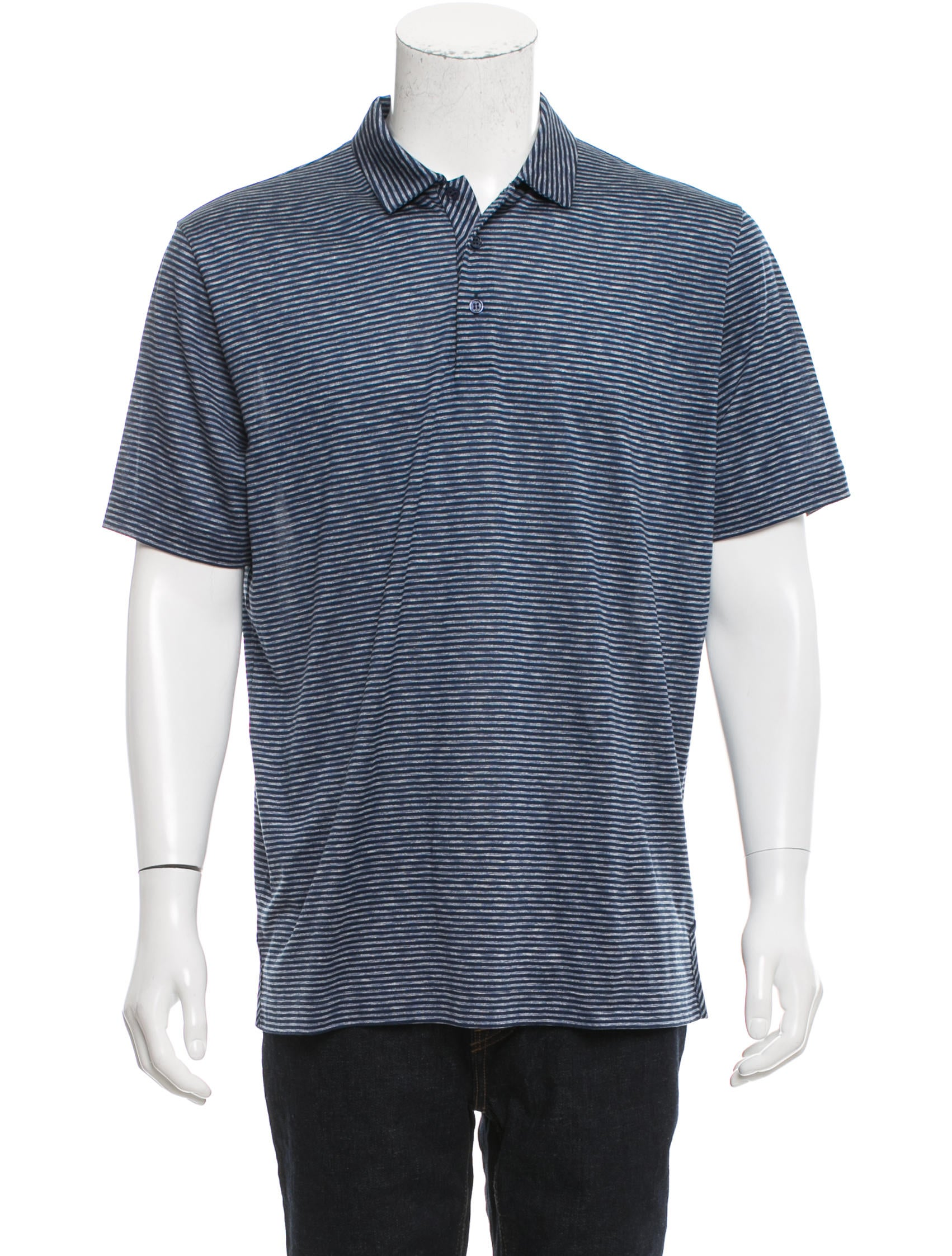 Canali Silk Polo Shirt W Tags Clothing Cnl20393 The