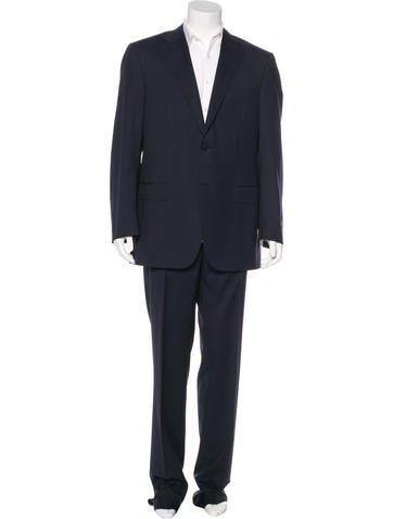 Canali Striped Wool Suit w/ Tags None
