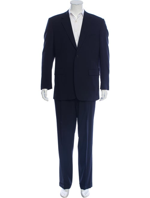 Canali Wool Two-Piece Suit navy