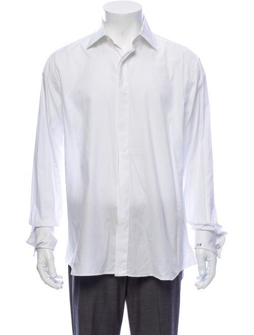 Canali French Cuff Dress Shirt white