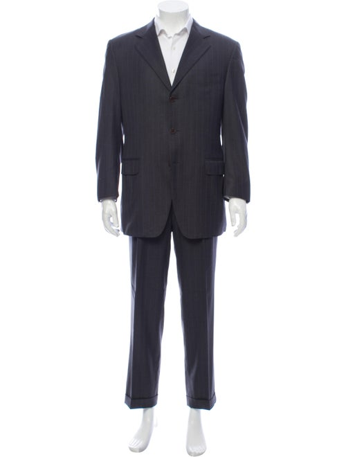 Canali Wool Two-Piece Suit Wool