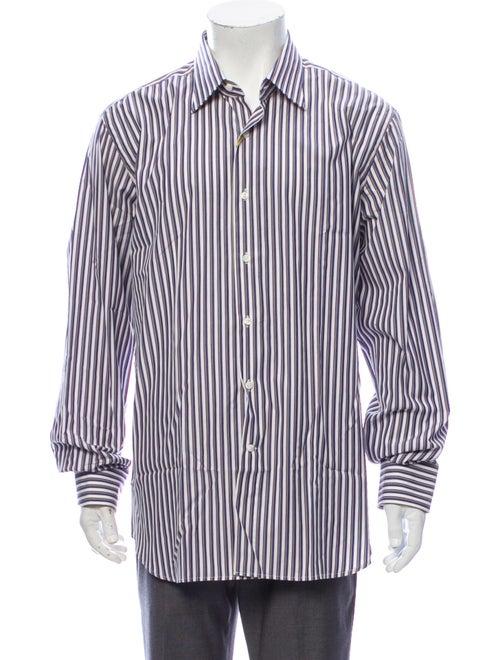 Canali Striped Long Sleeve Dress Shirt w/ Tags