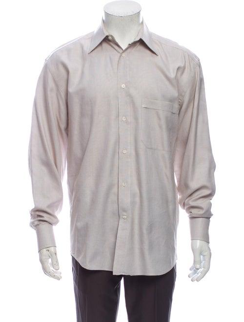 Canali Long Sleeve Dress Shirt