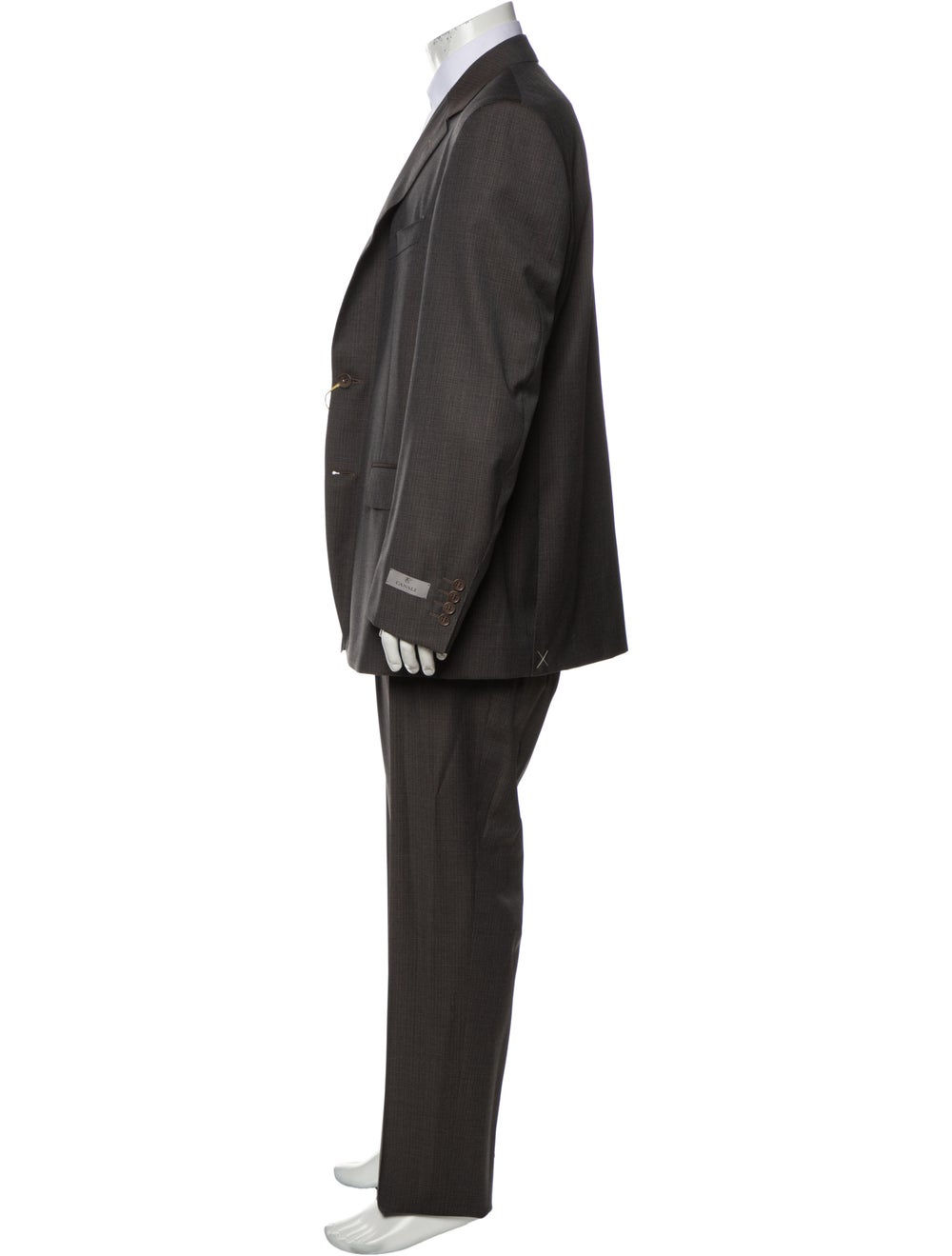 Canali Wool Two-Piece Suit w/ Tags Wool - image 2