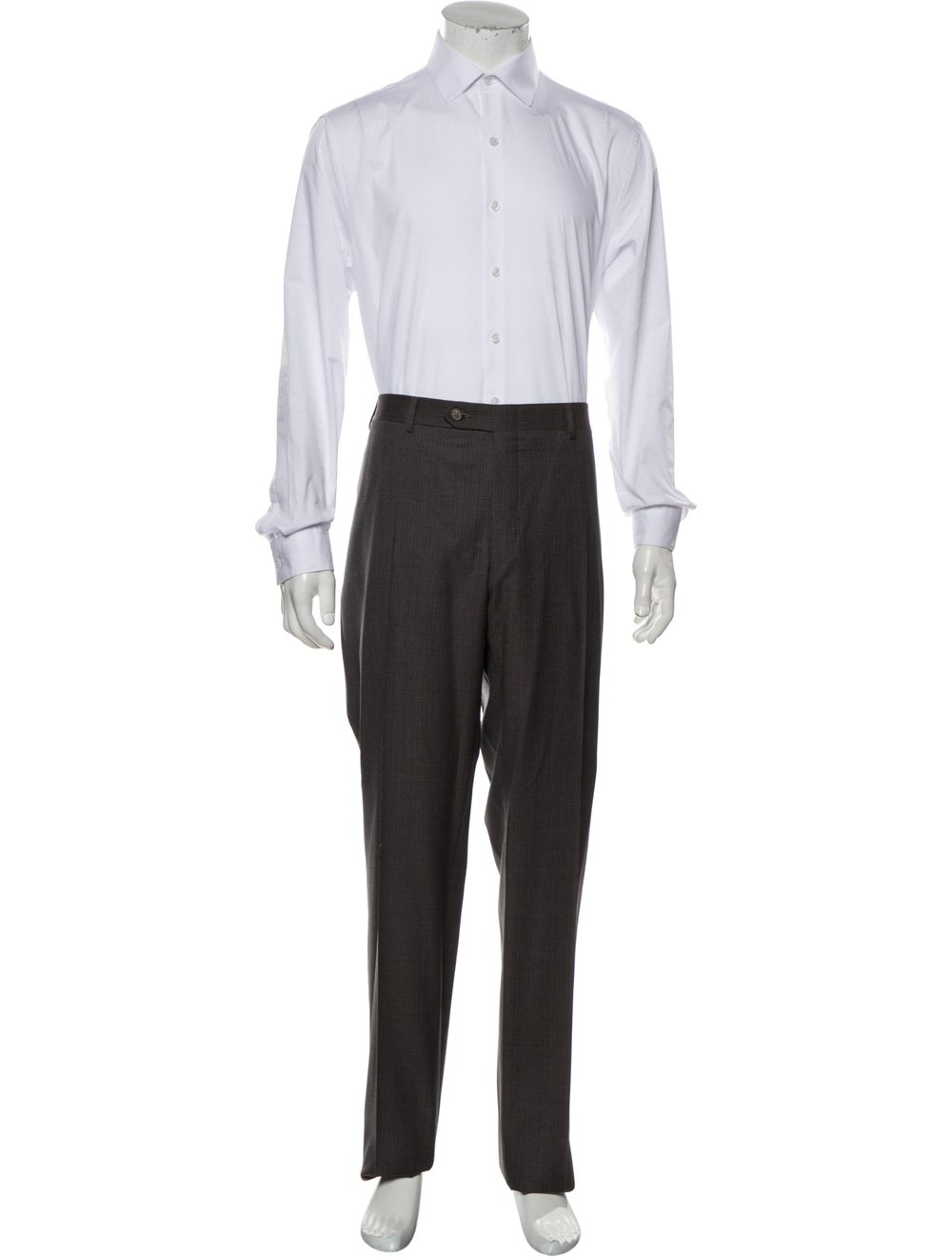 Canali Wool Two-Piece Suit w/ Tags Wool - image 4
