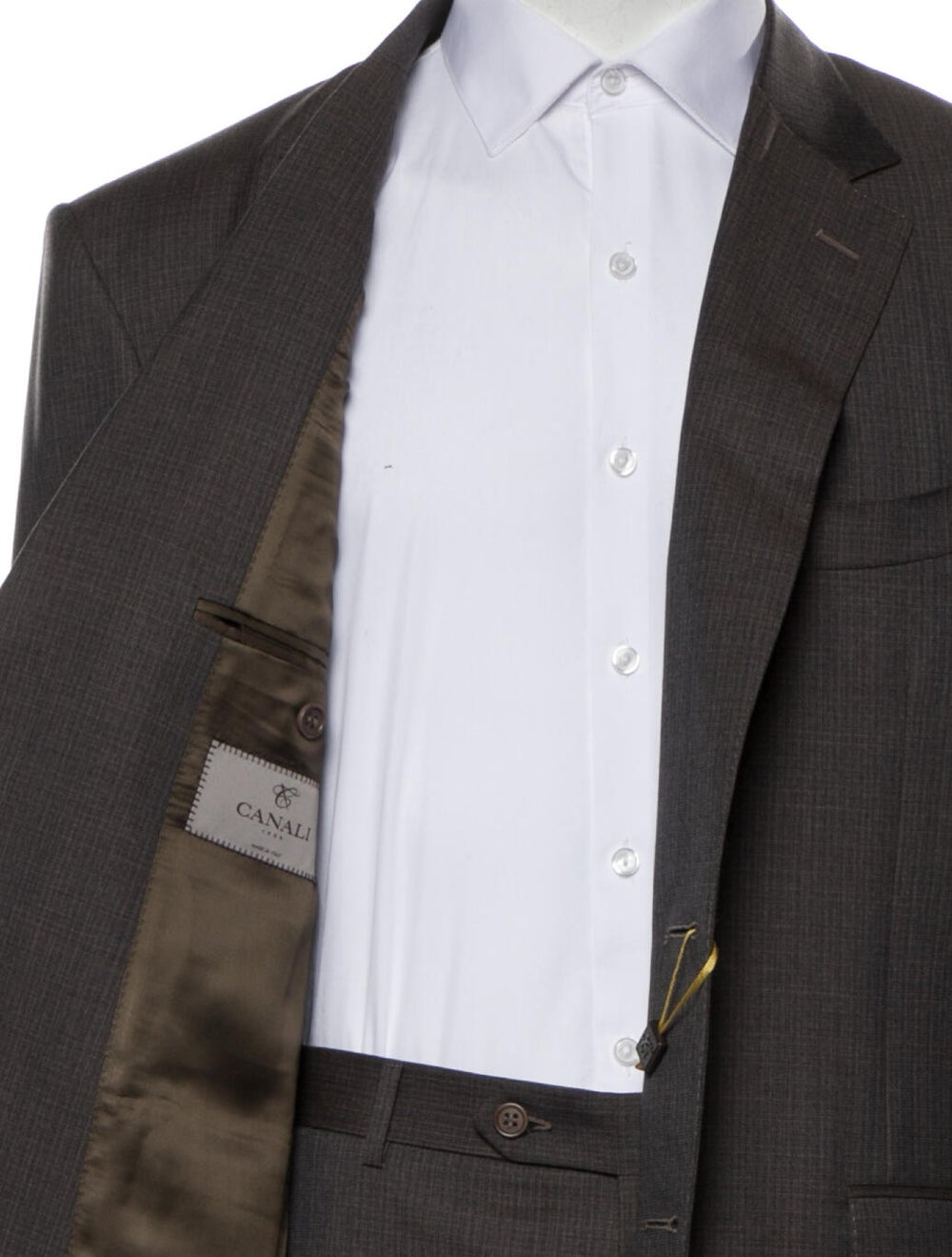 Canali Wool Two-Piece Suit w/ Tags Wool - image 5