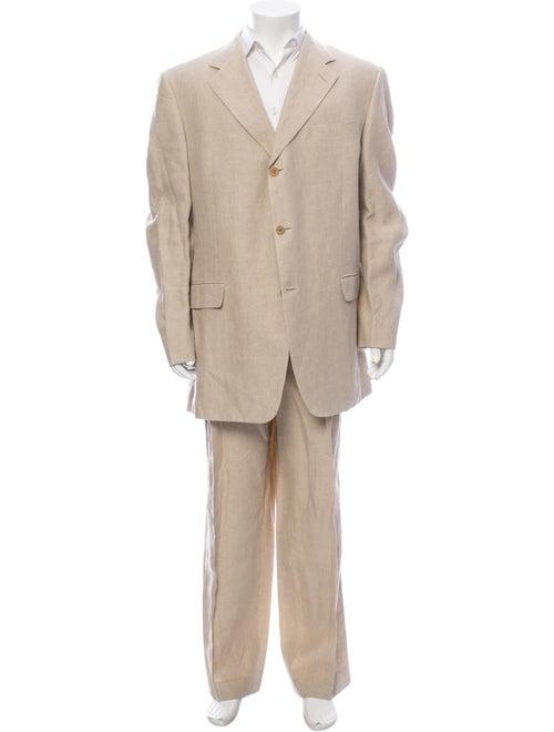 Canali Linen Two-Piece Suit - image 1