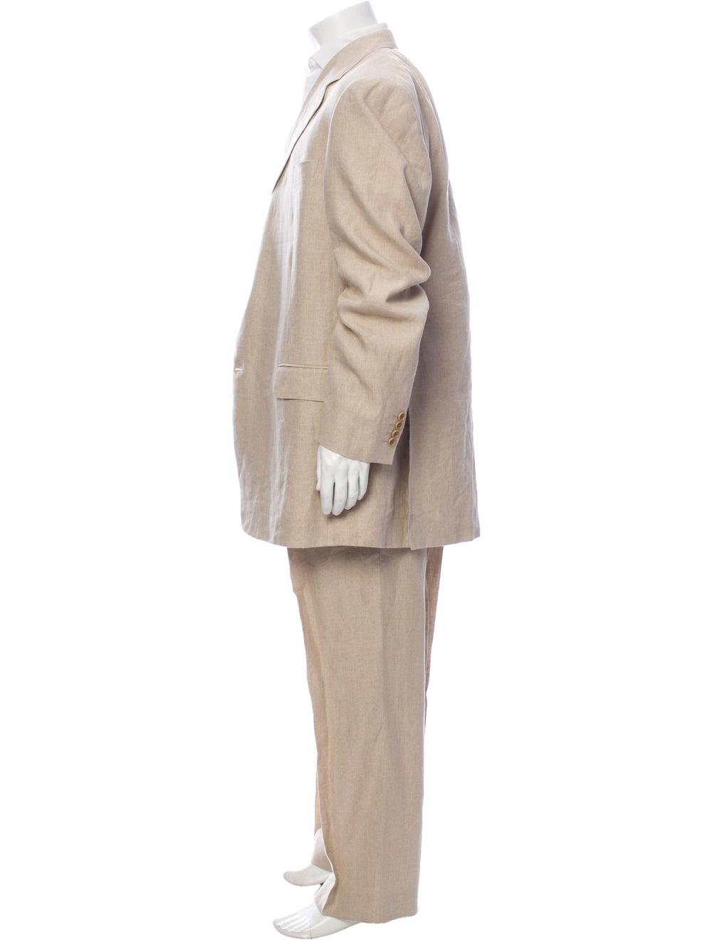 Canali Linen Two-Piece Suit - image 2