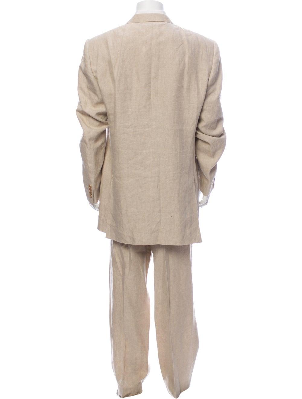 Canali Linen Two-Piece Suit - image 3
