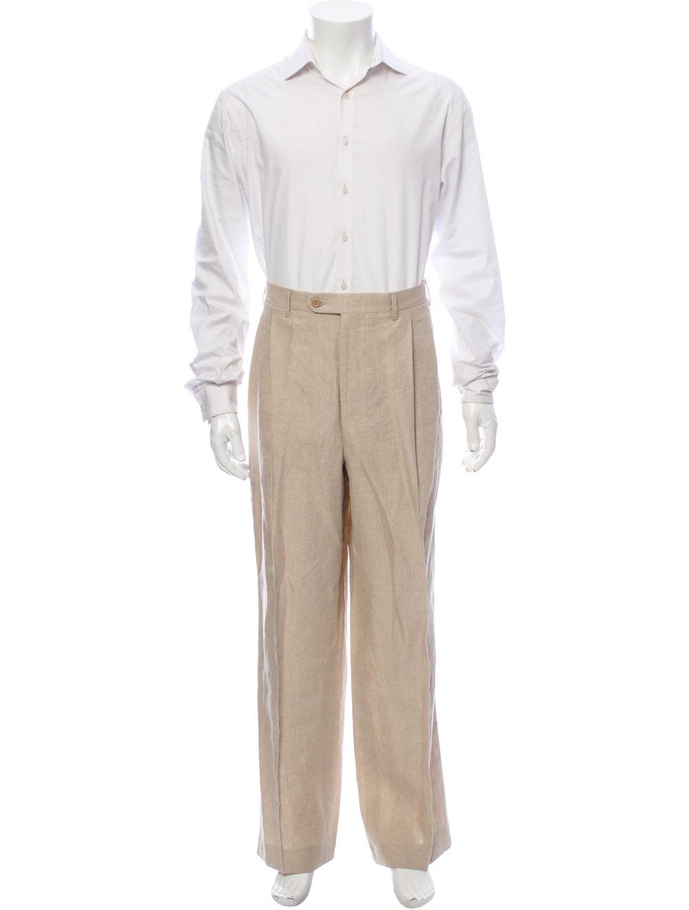 Canali Linen Two-Piece Suit - image 4