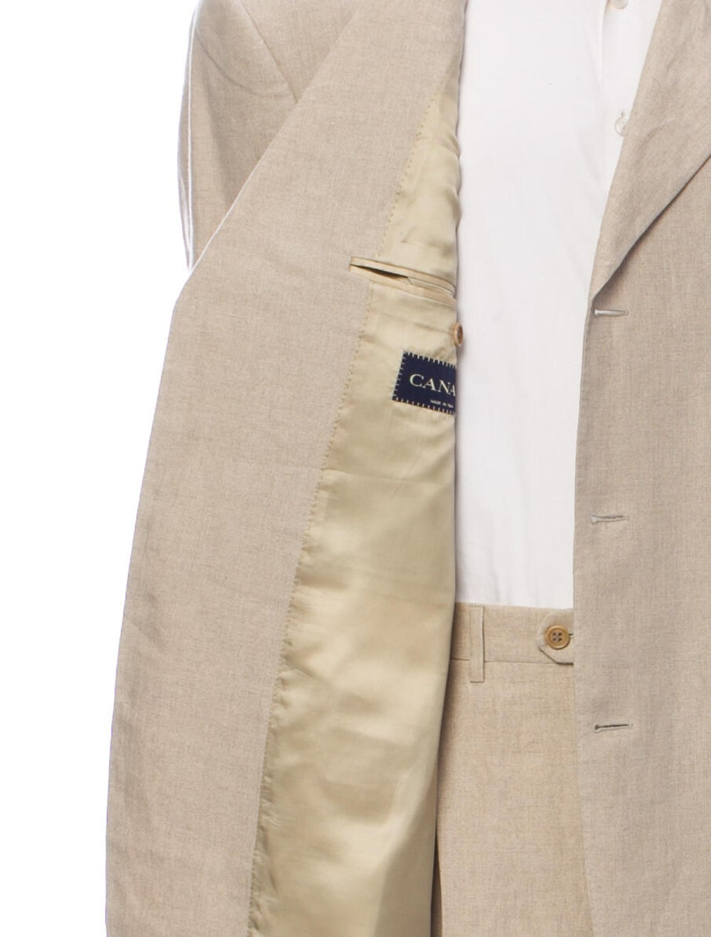 Canali Linen Two-Piece Suit - image 5