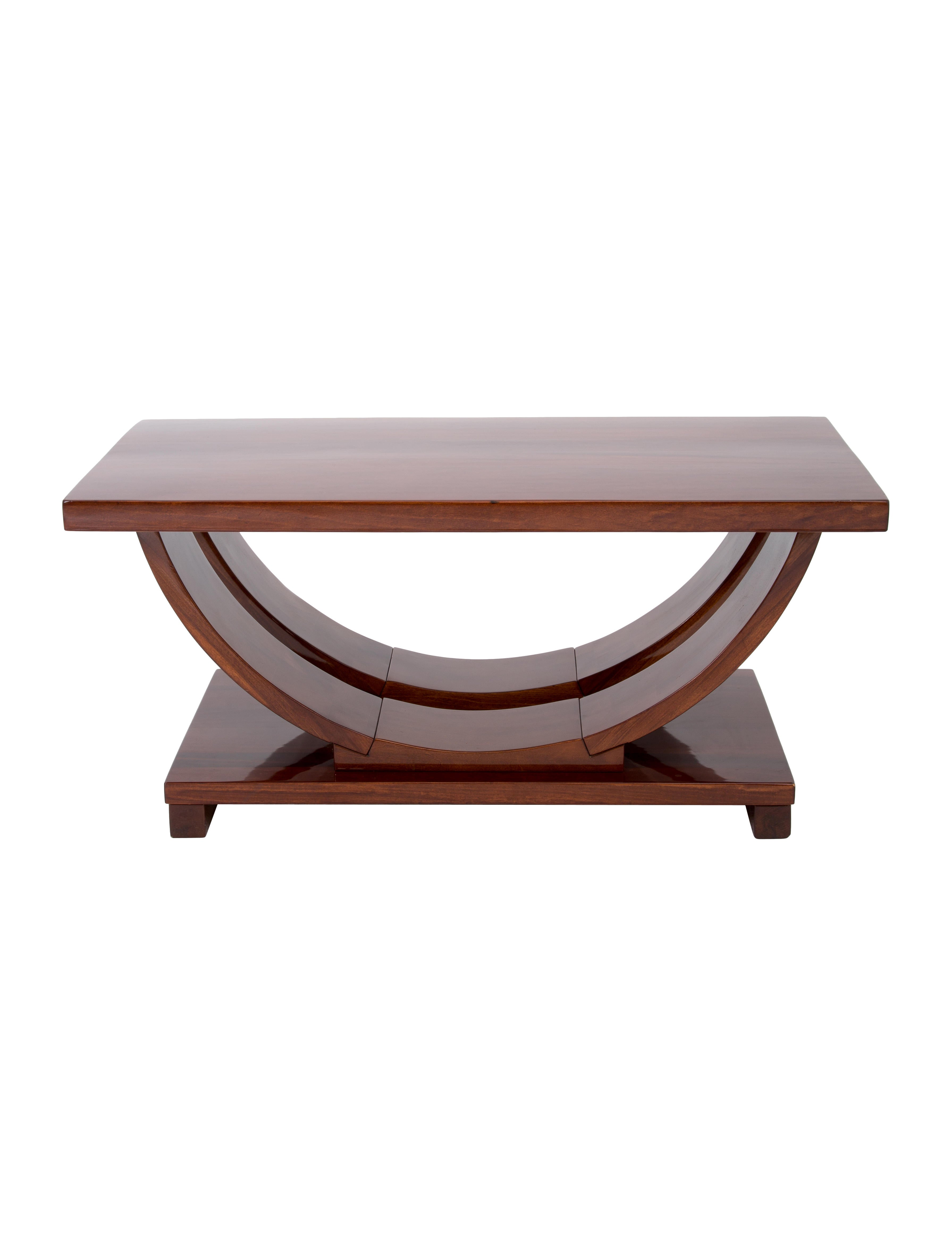 Mahogany coffee table furniture coffe20020 the realreal for Mahogany coffee table