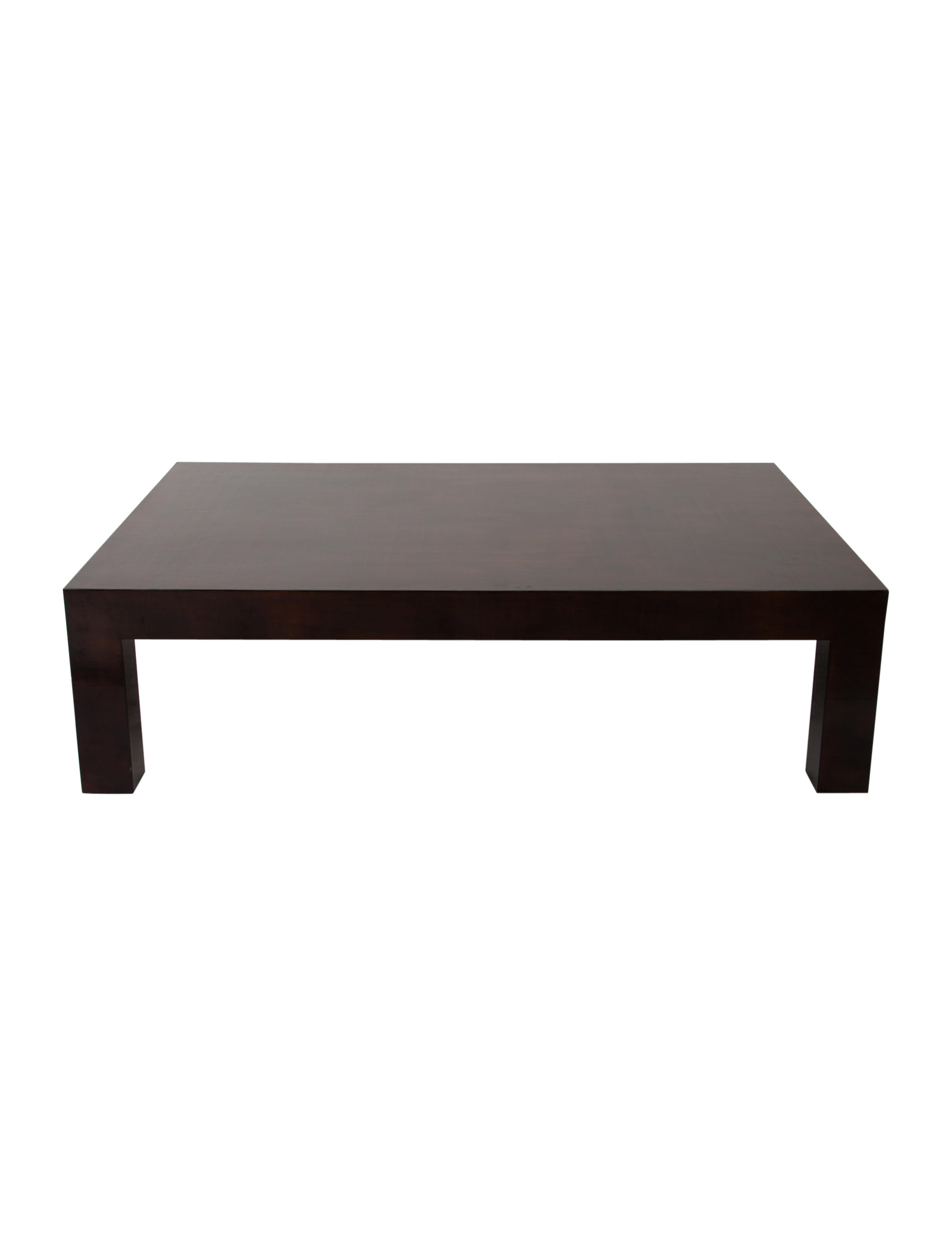 Lacquered Coffee Table Furniture Coffe20022 The Realreal