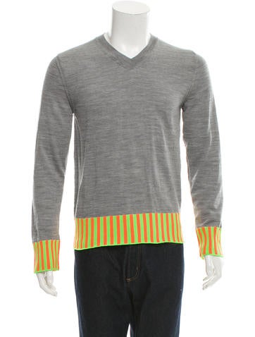 Comme des Garçons Striped Wool Sweater w/ Tags None