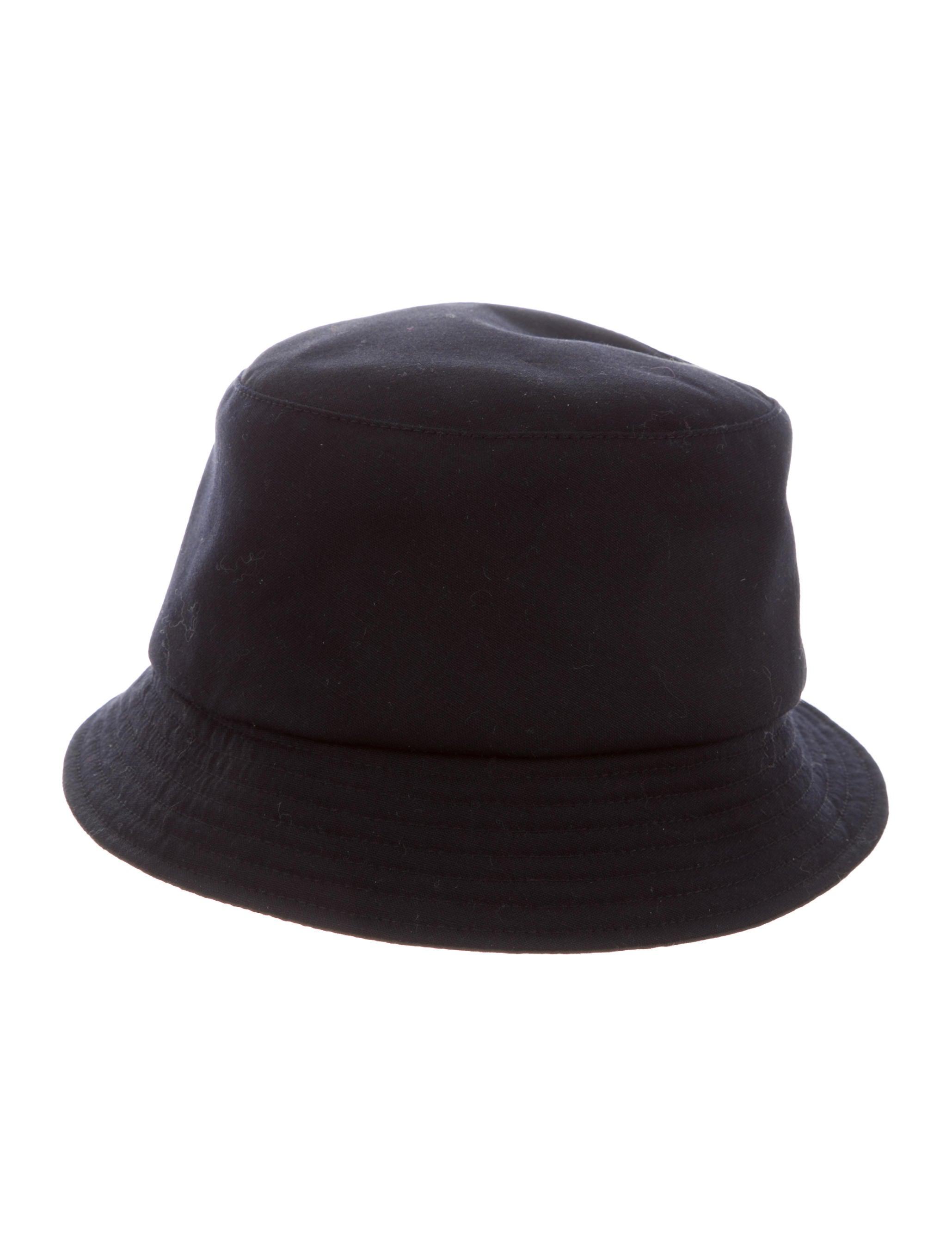 Comme des Garçons Woven Bucket Hat - Accessories - COM23933  0948c70a50b