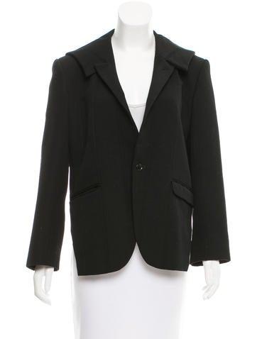 Comme des Garçons Wool Button-Up Jacket